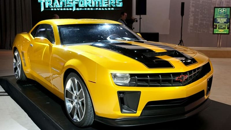 Chevy To Launch Limited Edition Blebee Camaro
