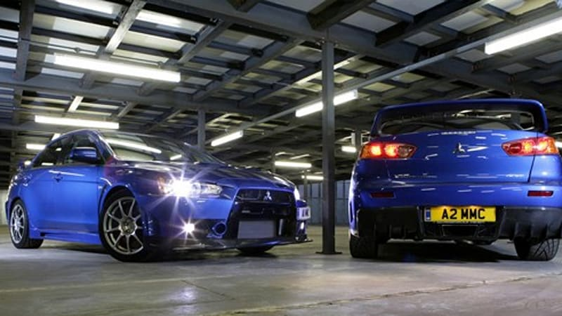 Officially Official Mitsubishi Evolution X FQ400 coming to the UK
