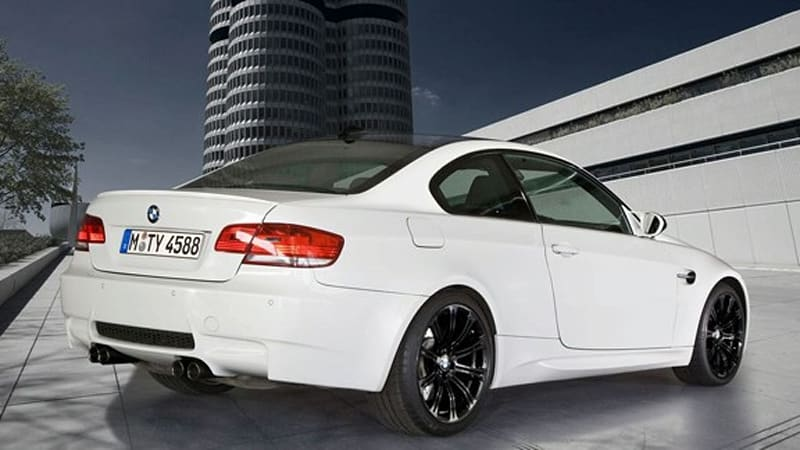 bmw introduces exclusive m3 edition models autoblog. Black Bedroom Furniture Sets. Home Design Ideas
