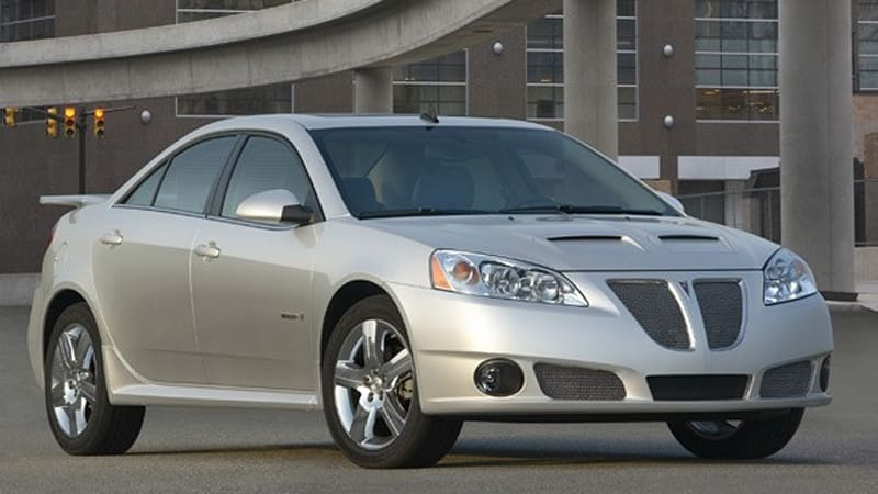 More GM Cuts: Cadillac STS-V and Pontiac G6 GXP both gone for 2010 ...