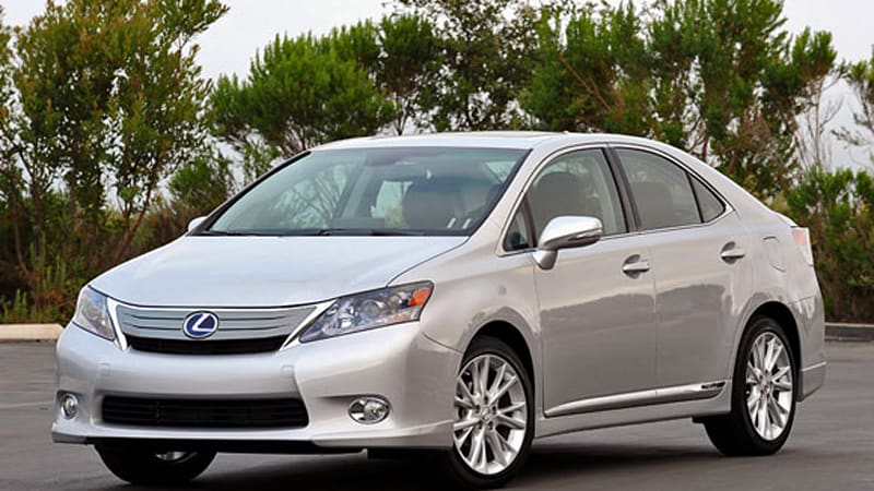 First Drive 2010 Lexus Hs 250h Is Pretty On The Inside