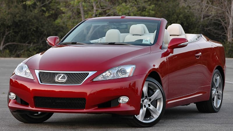 First Drive 2010 Lexus Is250 C And Is350 Prove That Going