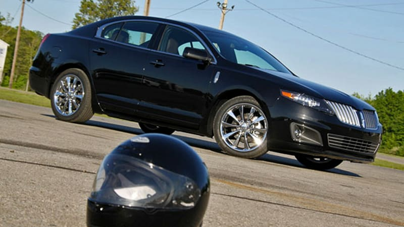 Racing A Lincoln Mks Ecoboost At Milan Dragway W Video Autoblog