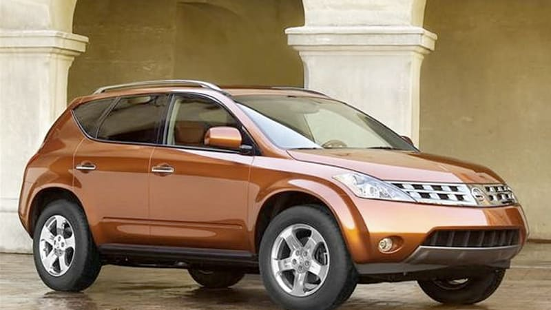 Nissan recalling nearly 363,000 first-gen Murano crossovers