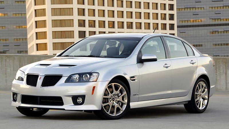 Burying The Dead Pontiac G8 Faces Recall Over Faulty Taillamps Tire Pressure Sensors Autoblog