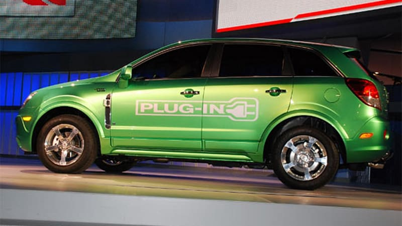 The Saturn Vue Was Supposed To Be Gm S First Plug In Hybrid But Pending Loss Of Leaves General Upcoming Tech Without A Vehicle Or