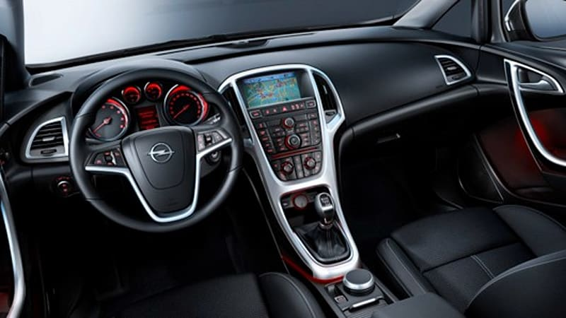 Opel pulls the wraps off the 2010 Astra\'s interior - Autoblog