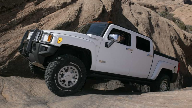 Jeep Has No Plans For Gladiator 392 But Hummer Built H3t V8 In 2008 Autoblog