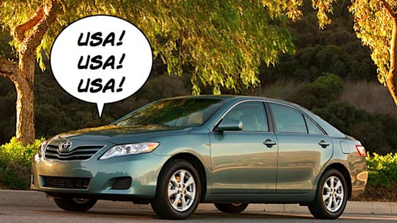Toyota Camry Tops This Year S Cars American Made Index