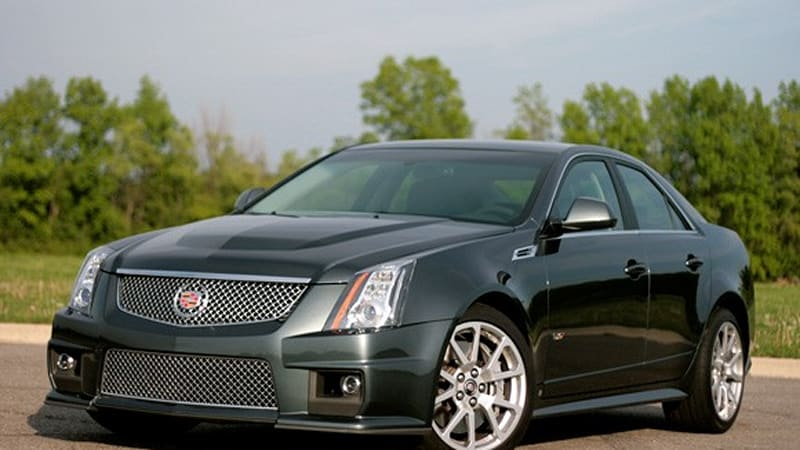 Review 2009 Cadillac Cts V Offers Supercar Performance Everyday