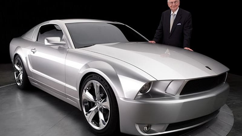 iacocca silver 45th anniversary edition ford mustang introduced