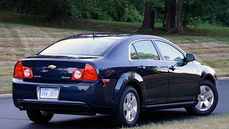 Gm To Discontinue Mild Hybrid Malibu Vue Aura For 2010 Model Year