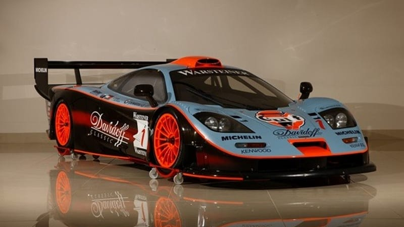 1997 McLaren F1 GTR race car for sale in Japan - Autoblog