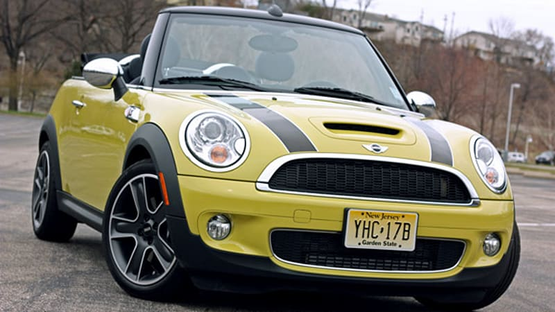 Review 2009 Mini Cooper S Convertible Adds Open Air Fun For A Price