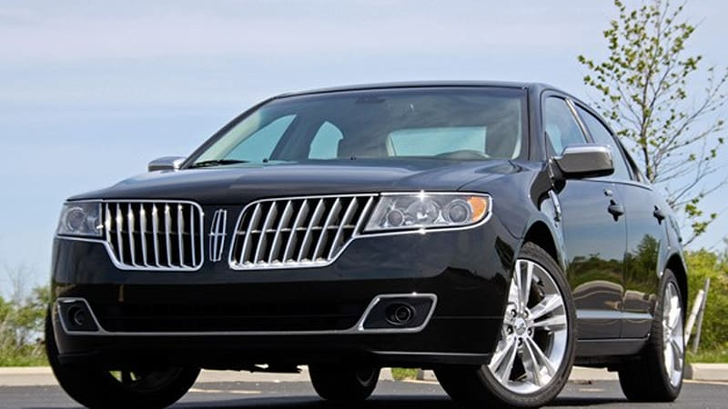 Review 2010 Lincoln Mkz Makes A Name For Itself In The Middle Autoblog