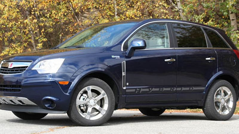 Saturn Vue Two Mode Dead, Chevrolet Equinox Hybrid Unlikely To Hit Until  2011   Autoblog