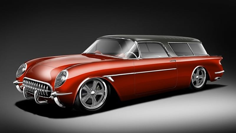 Superior Glass Works to sell 54 Sports Wagon based on C5
