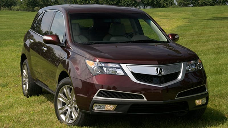 Quick Drive 2010 Acura Mdx Gets New Nose Powertrain Improvements Autoblog