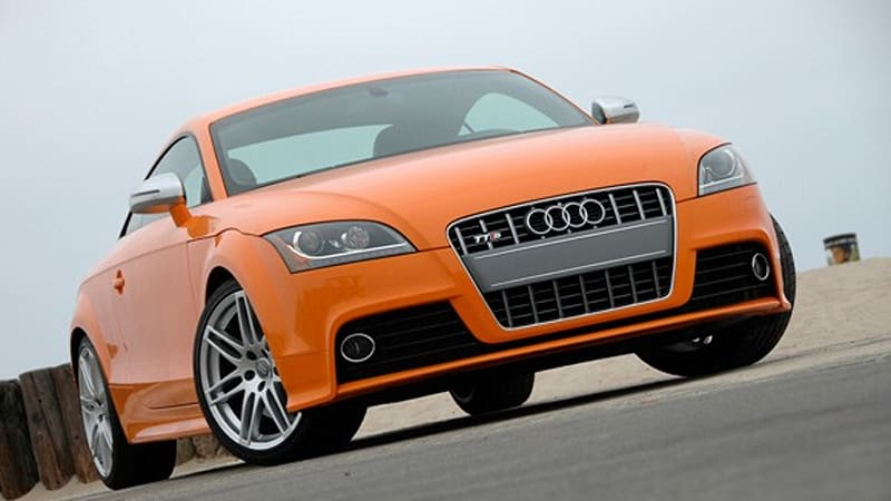 review 2009 audi tts is our orange crush but only just a crush autoblog. Black Bedroom Furniture Sets. Home Design Ideas