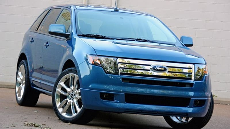 Review  Ford Edge Sport Offers Big Wheels Key Improvements Autoblog