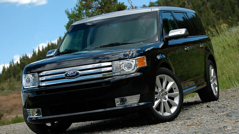 first drive 2010 ford flex ecoboost delivers more than just a better engine autoblog. Black Bedroom Furniture Sets. Home Design Ideas