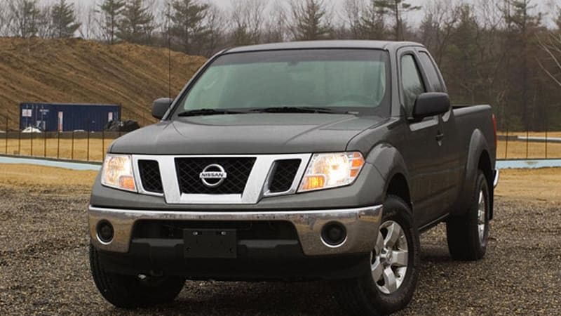 Review 2009 Nissan Frontier Continues To Blaze The Small Truck Trail Autoblog