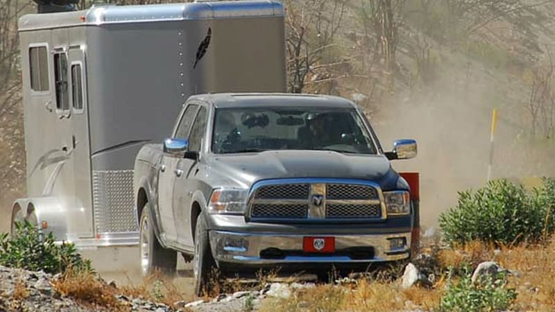 Dodge Increases Towing Capacity Of 2010 Ram On Paper With No