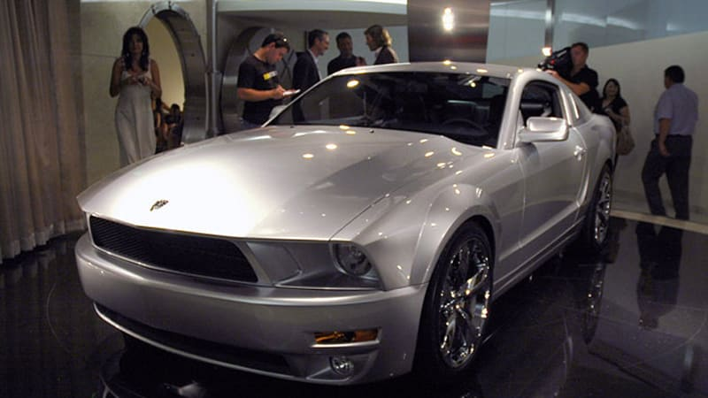 live reveal: iacocca 45th anniversary edition ford mustang - autoblog