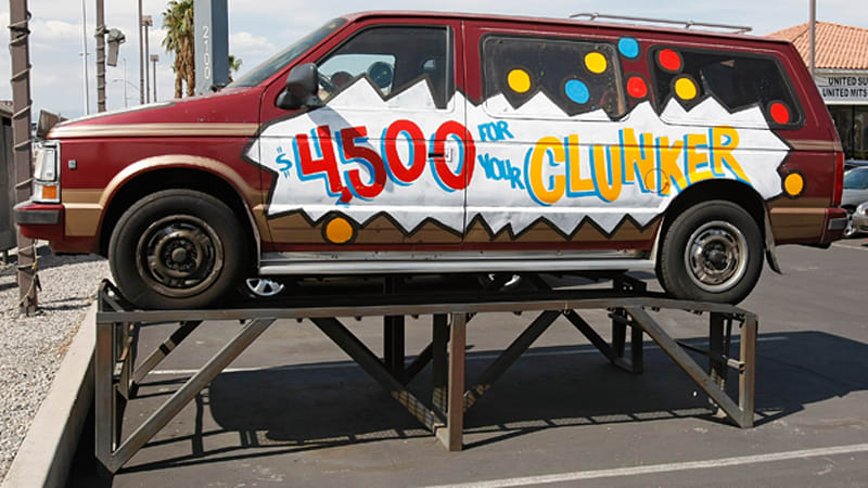 Cash For Clunkers >> Dealer Poll Calls Cash For Clunkers A Nightmare Four Out