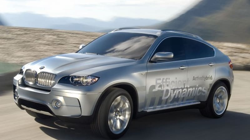 Bmw X6 Hybrid To Be World S Most Powerful Gas Electric Vehicle