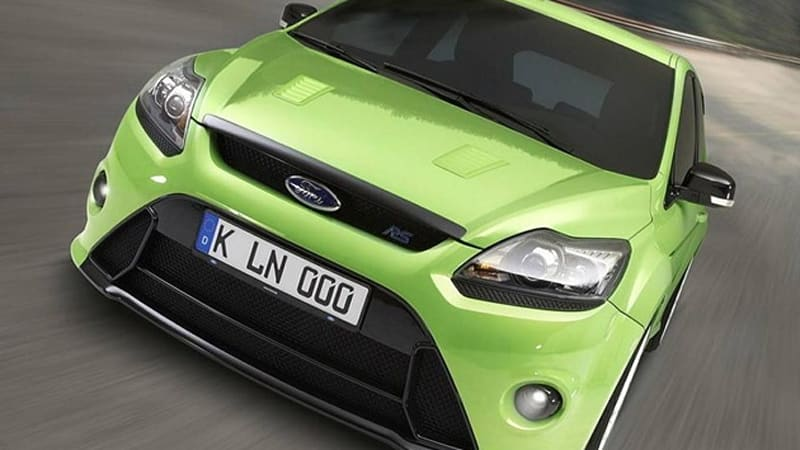 Video Ford Focus Rs Falls Short Of Record With  Nurburgring Lap Time Autoblog