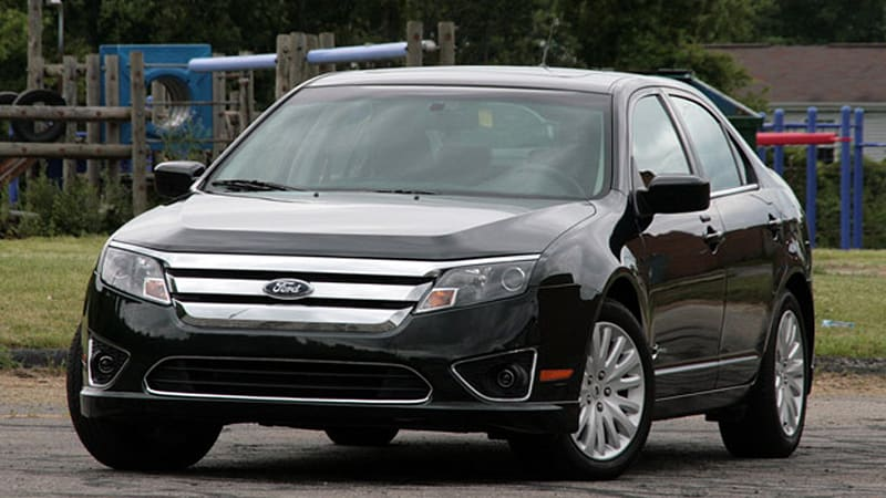 Review 2010 Ford Fusion Hybrid What A Difference 60 Degrees Makes