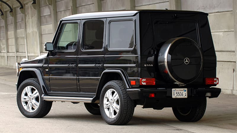 Review the 2009 mercedes benz g550 makes us feel for Mercedes benz g550 price
