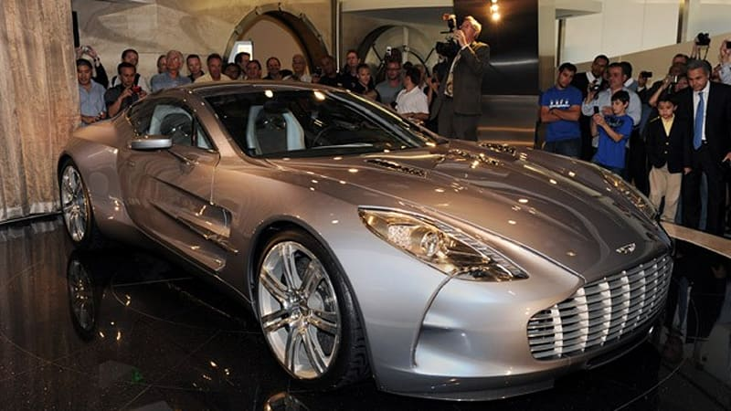 Aston Martin One 77 The Justification S In The Details Autoblog