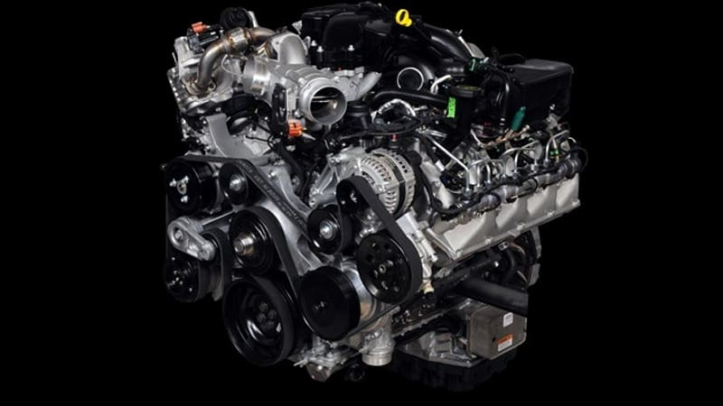 Ford 6.7 Diesel >> Beware The Scorpion 2011 Ford Super Duty Gets All New 6 7 Liter