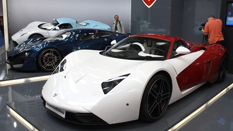Frankfurt 2009: Marussia B2 breaks cover, B1 Hybrid shown in new ...
