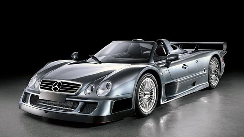 Pair Of Mercedes Benz Clk Gtr Road Cars To Be Auctioned By Rm In London Autoblog