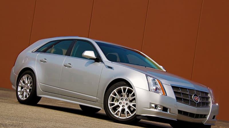 Review 2010 Cadillac Cts Sportwagon Eats Up Cargo Swallows Open Road Autoblog