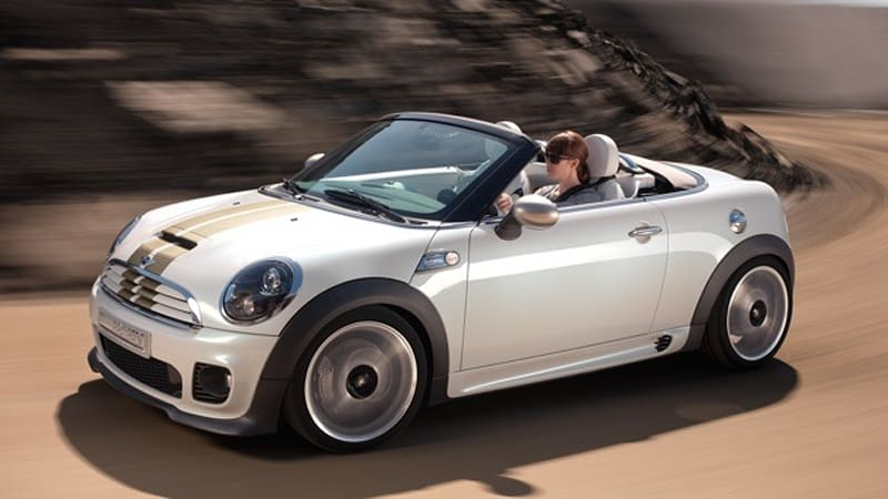 Officially Official Mini Roadster Concept Will Join Coupe Onstage