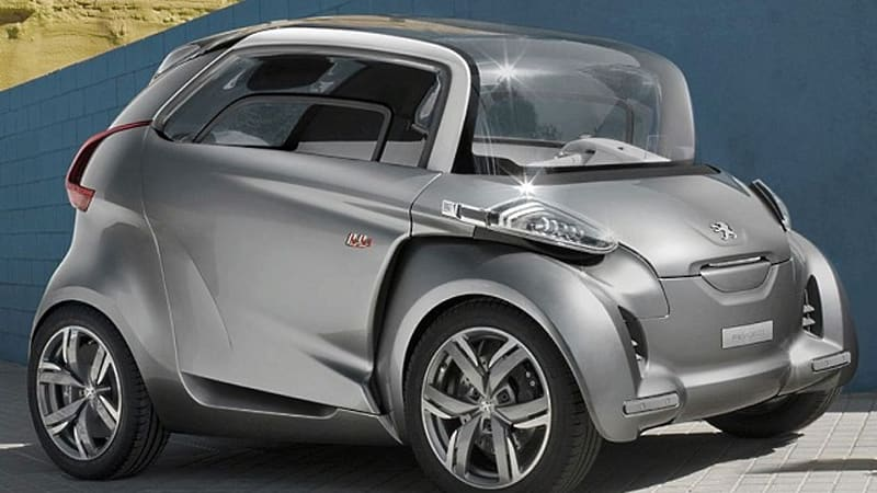 Frankfurt Preview Peugeot Mixes Car With Scooter To Create The Bb1