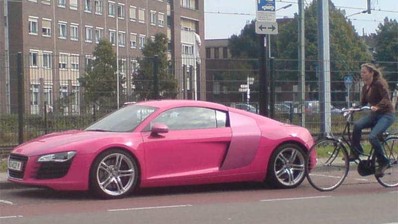 Now Weve Seen It All Part Pi Pink Audi R8 In Holland Wpoll