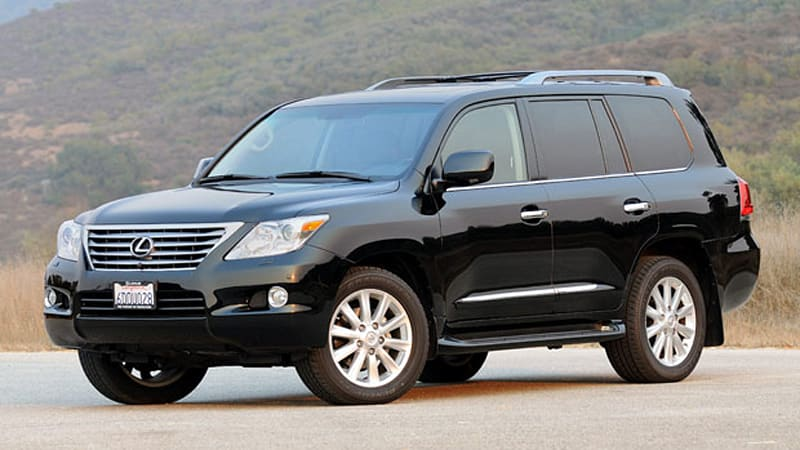 Beautiful Review: 2009 Lexus LX570 Is Three Tons Of Luxury With A Dollop Of Off Road  Mastery   Autoblog