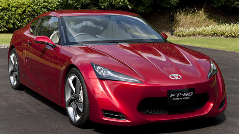 Toyko 2009 Preview: Toyota FT-86 Concept brings back the Hachi ...