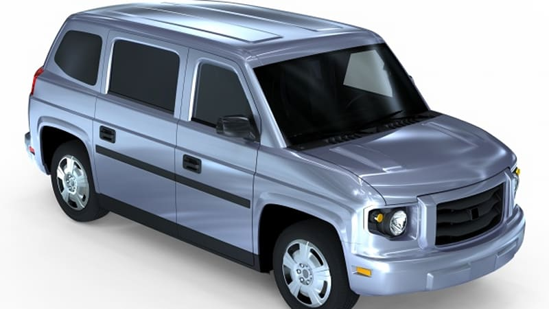 Who Makes Mv1 >> Am General To Build Vpg Mv 1 People Mover At Hummer H2