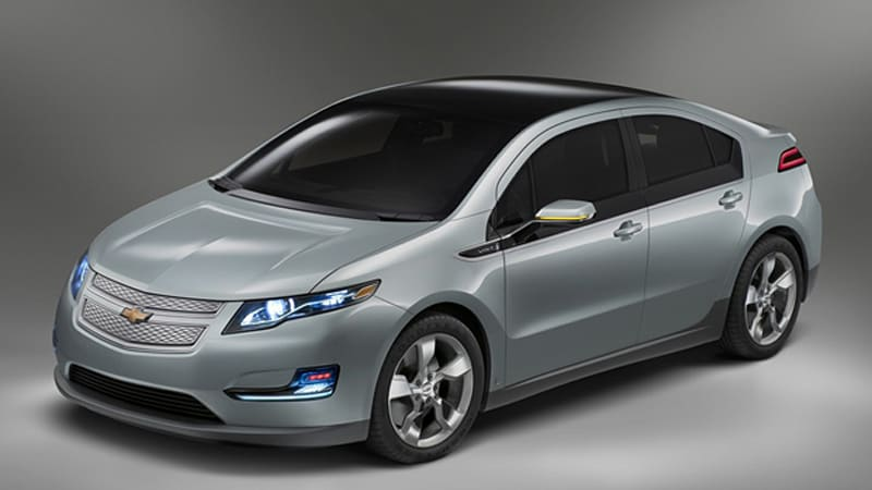 Viridian Joule Picked As Winner Of Chevy Volt Paint Color Contest