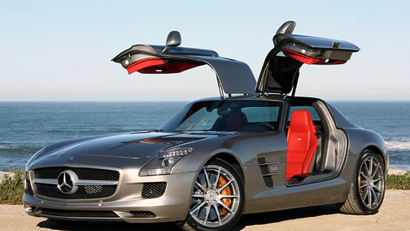 First Drive: 2011 Mercedes Benz SLS AMG Straightens Up And Flies Right    Autoblog