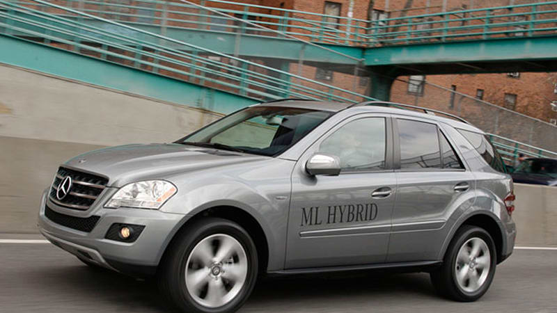 Mercedes Benz Ml450 Hybrid 4matic Not For Lease Only