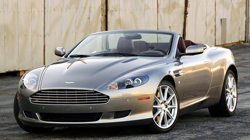 review 2009 aston martin db9 volante makes getting away with it half all the fun autoblog. Black Bedroom Furniture Sets. Home Design Ideas