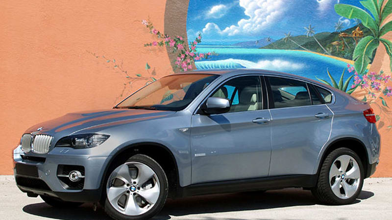 First Drive 2010 Bmw X6 Activehybrid Is Technologically Impressive