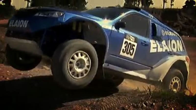 Video New Subaru Forester Rally Car Getting Warmed Up For Dakar